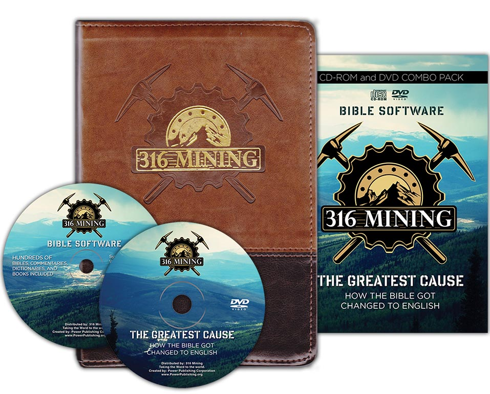 The 316 Mining Subject Bible Study Package by Power Publishing