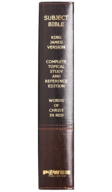 The Famous Subject Bible (KJV) by Power Publishing Corporation