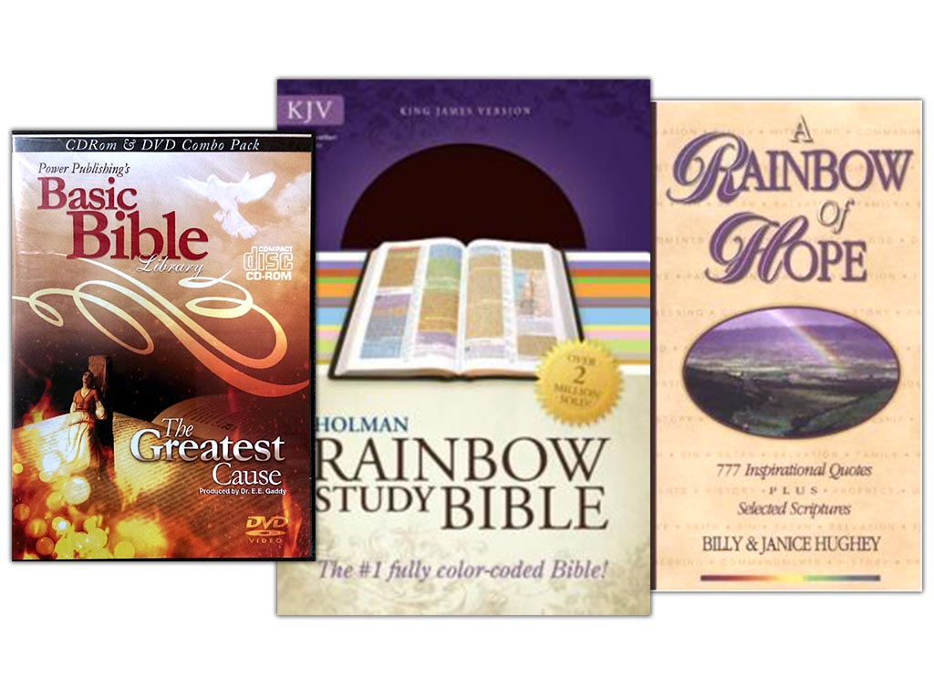 The Rainbow Bible Study Package by Power Publishing