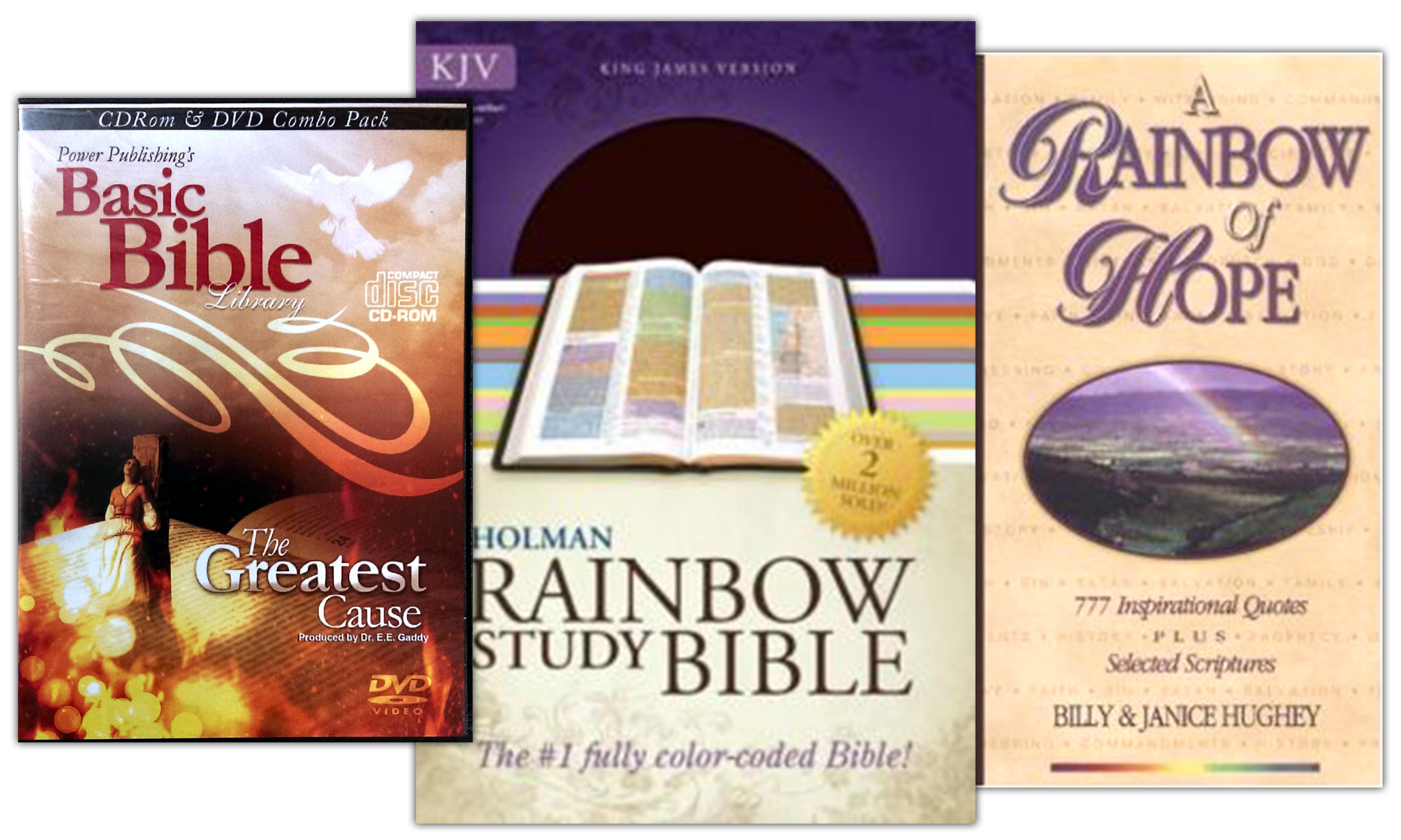 The Rainbow Bible Study Package (KJV)