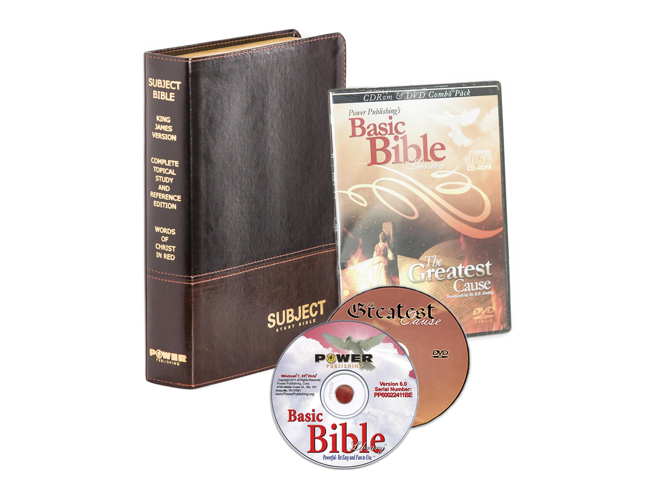 The Famous Subject Bible Study Package (KJV)