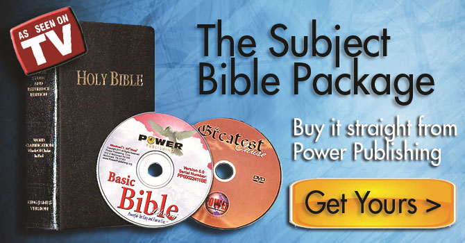 The Famous Subject Bible Study Package by Power Publishing Corporation
