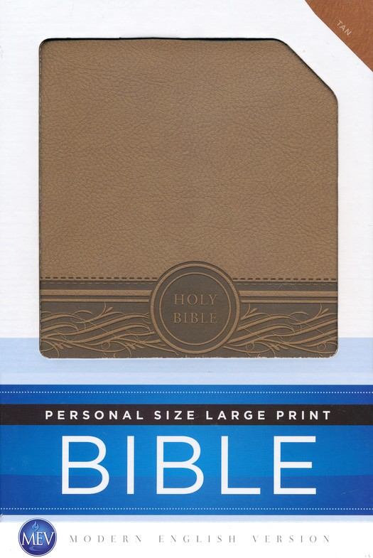 The Personal Size Large Print Bible (MEV)